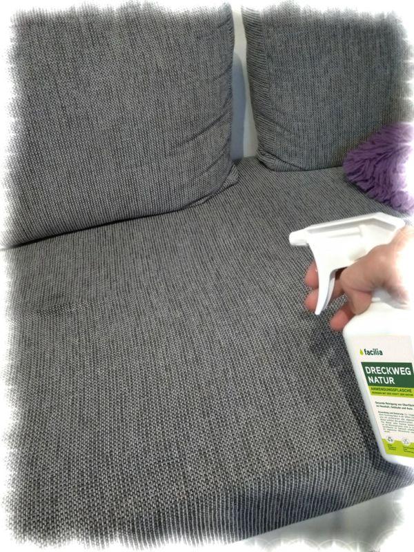 Polster, Sofa, Couch Reiniger Öko Reiniger