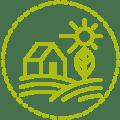 Facilia Icon Bio-Produkt hellgrün